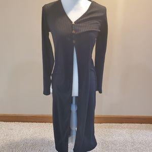 Floor Length Cardigan